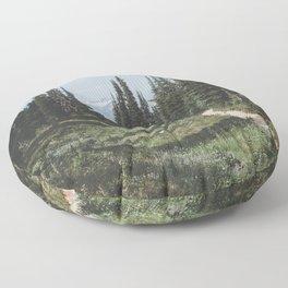 Mountain Trail Floor Pillow