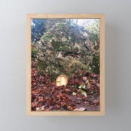 Fairie Door Framed Mini Art Print
