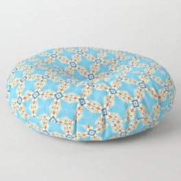 Mana #pattern #seamless Floor Pillow