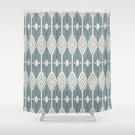 West End - Linen Shower Curtain
