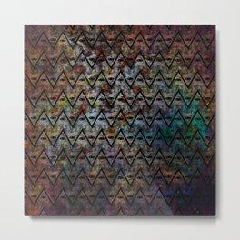 All Seeing Pattern Metal Print