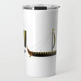Gokstad Viking Ship Travel Mug