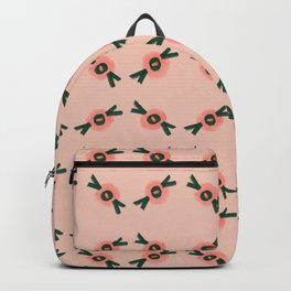 Coral gum nut pattern Backpack