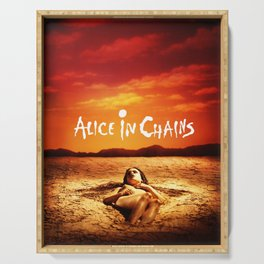 alice in chains sun dirt 2021 Serving Tray