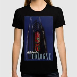 Cologne Vintage Travel Poster T-shirt