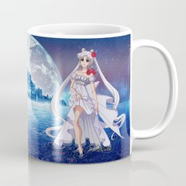 Sailor Moon Crystal Princess Serenity SILVER HAIR Coffee Mug