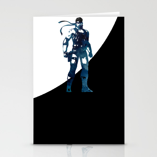 Solid Snake - Metal Gear Solid Stationery Cards by Naumovski CRD7742583