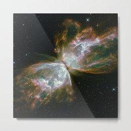 The Butterfly Nebula Metal Print