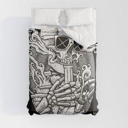 Light It Up - Skeleton Stoner Comforters