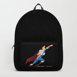 Super Dad - Funny Superhero Gift for Daddy Backpack
