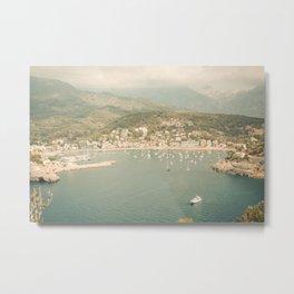 Port of Soller, Mallorca- Fine Art print- travel photography Metal Print