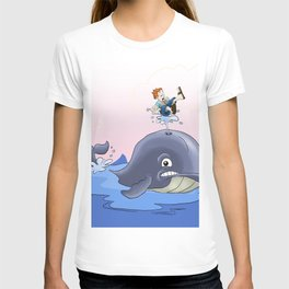 Jonah and the big fish T-shirt