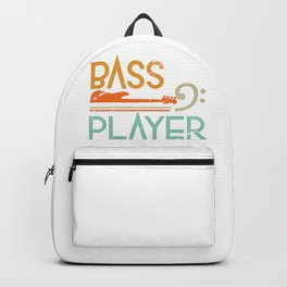 Bass Player Gift Backpack