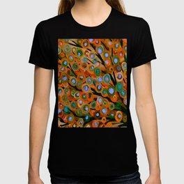 Fall Red Leaves Tree T-shirt