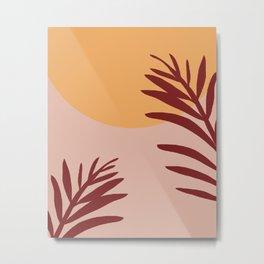 terracota sunset Metal Print