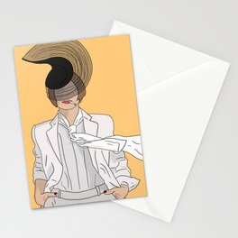 Patti LuPone With Hat Stationery Cards