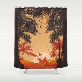 Summertime Madness Shower Curtain