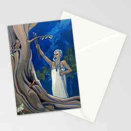 Night Rituals Stationery Cards