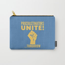 Procrastinators Unite Tomorrow (Blue) Tasche