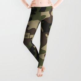 Military Camouflage 101 airborne Leggings