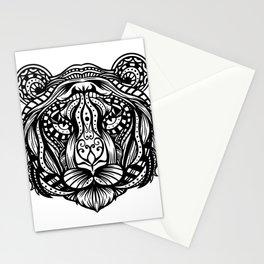 Tiger Mandala Stationery Cards