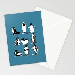 Penguin Yoga Stationery Cards