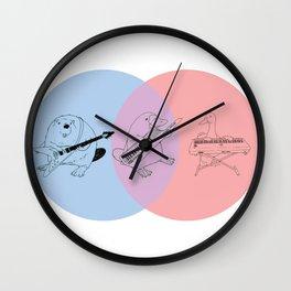 Keytar Platypus BPR Wall Clock