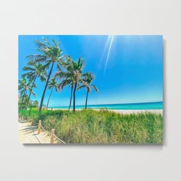 Miami Slice Metal Print
