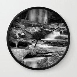 Rock And Water Wall Clock