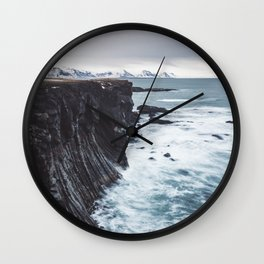 The Edge - Landscape and Nature Photography Wall Clock