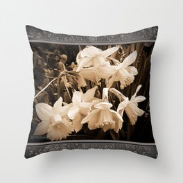 Daffodil named Fortune Throw Pillow