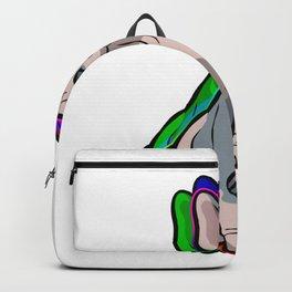 Pride Katze Geek Backpack