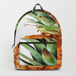 Pineapple Tropical Fruit Vector Art Backpack