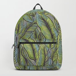 Leaves of Paradise Lime Backpack