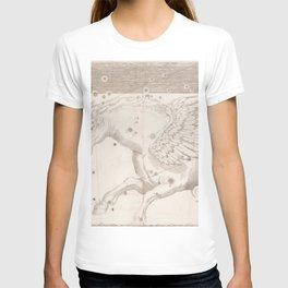 Johann Bayer - Uranometria / Measuring the Heavens (1661) - 19 Pegasus T-shirt