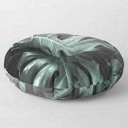 Monstera leaves, Palm Leaf Floor Pillow