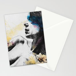 The Hunger | nude woman erotic portrait Stationery Cards