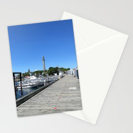 Ptown Dock and Tower II Stationery Cards