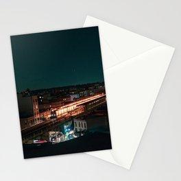 Subway Skyline Stationery Cards