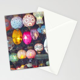Turkish Lights Stationery Cards
