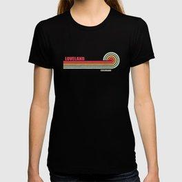Loveland Colorado City State T-shirt