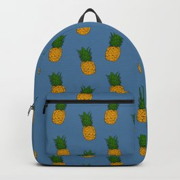 Large Pineapple Pattern Backpack