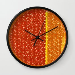 Snoopy sees Earth Wrapped in Sunset African American Masterpiece by Alma Thomas Wall Clock
