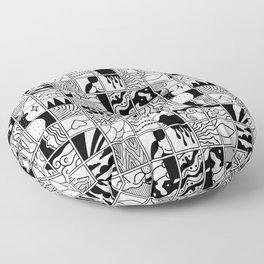 extraordinary spaces - pattern Floor Pillow