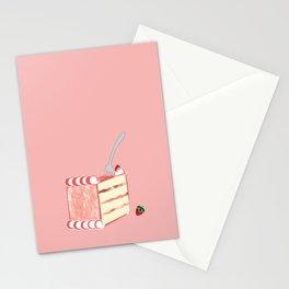 Creative Strawberry Shortcake Stationery Cards