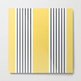 Coogee Stripe Metal Print