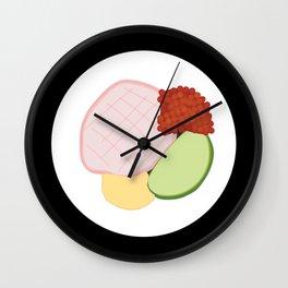 Sushi Roll - Kani Wall Clock