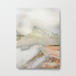 Mountain Peak Metal Print