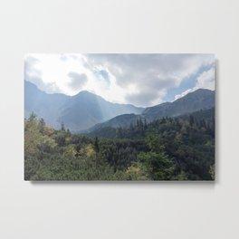 Hikers Paradise Metal Print
