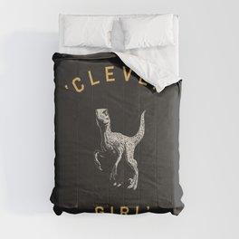 Clever Girl (Dark) Comforters
